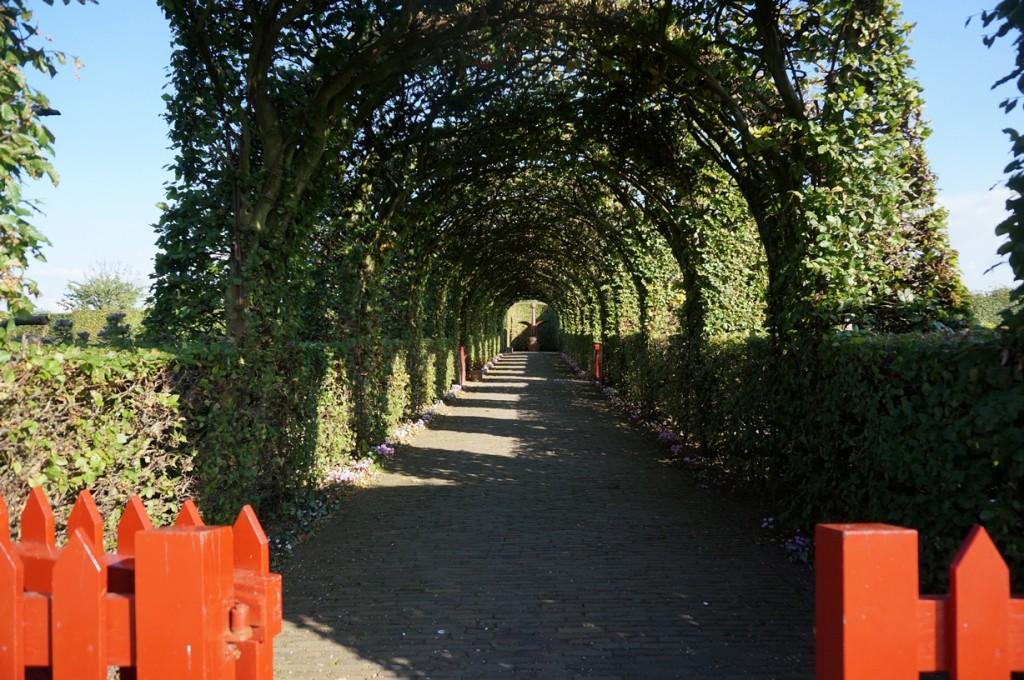 マウデン城庭