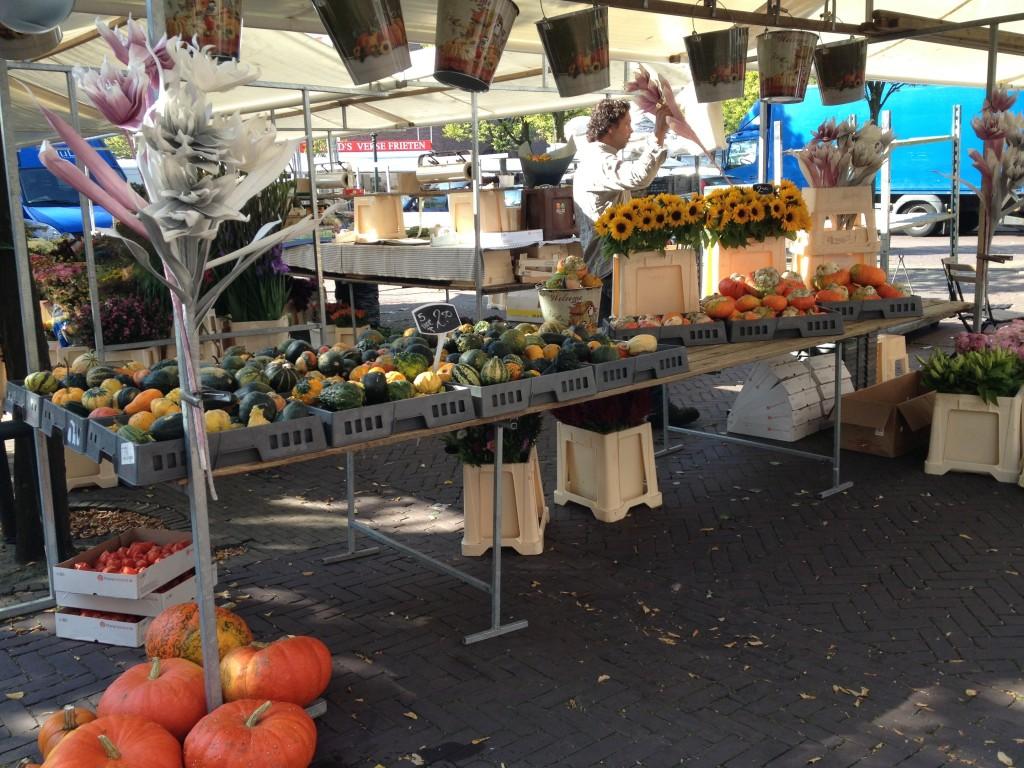 オランダのマーケット