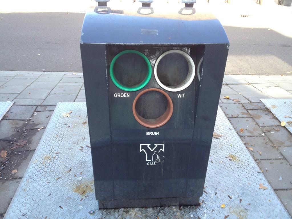 オランダのゴミ捨て