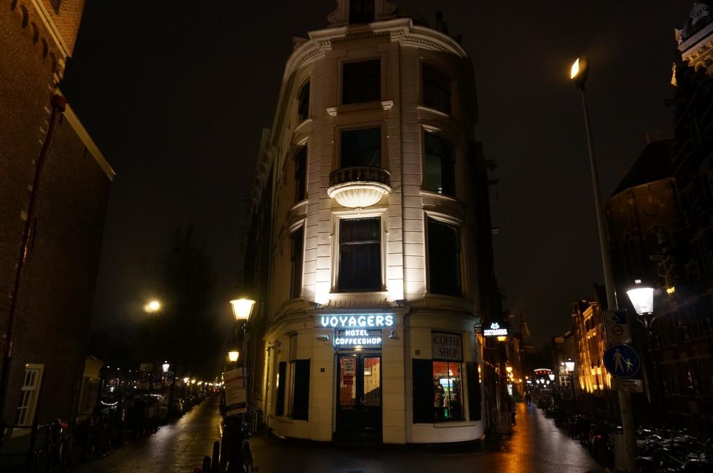 コーヒーショップホテルinアムステルダム
