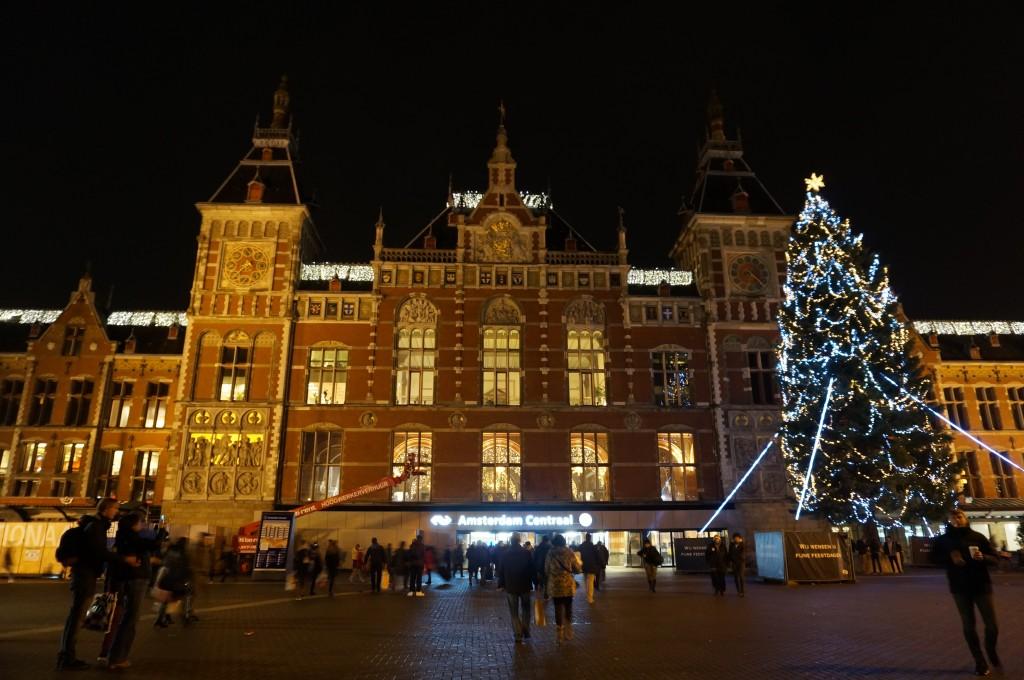 年始のアムステルダム