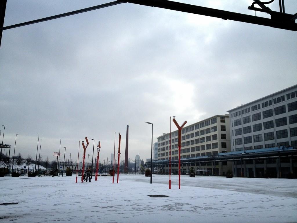 オランダ2015雪