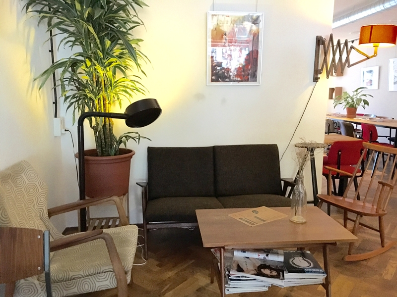 アイントホーフェンのカフェ